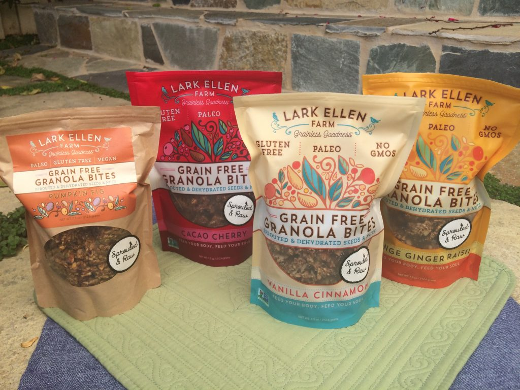 Paleo Sprouted Granolas and Trail Mixes 1