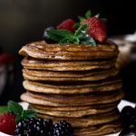 4 Ingredient Paleo Pancakes featured