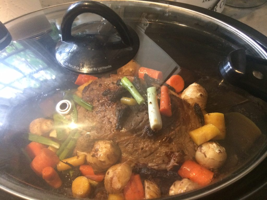 Crock Pot rump roast 2428
