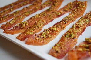 paleo sweet pistachio bacon 1