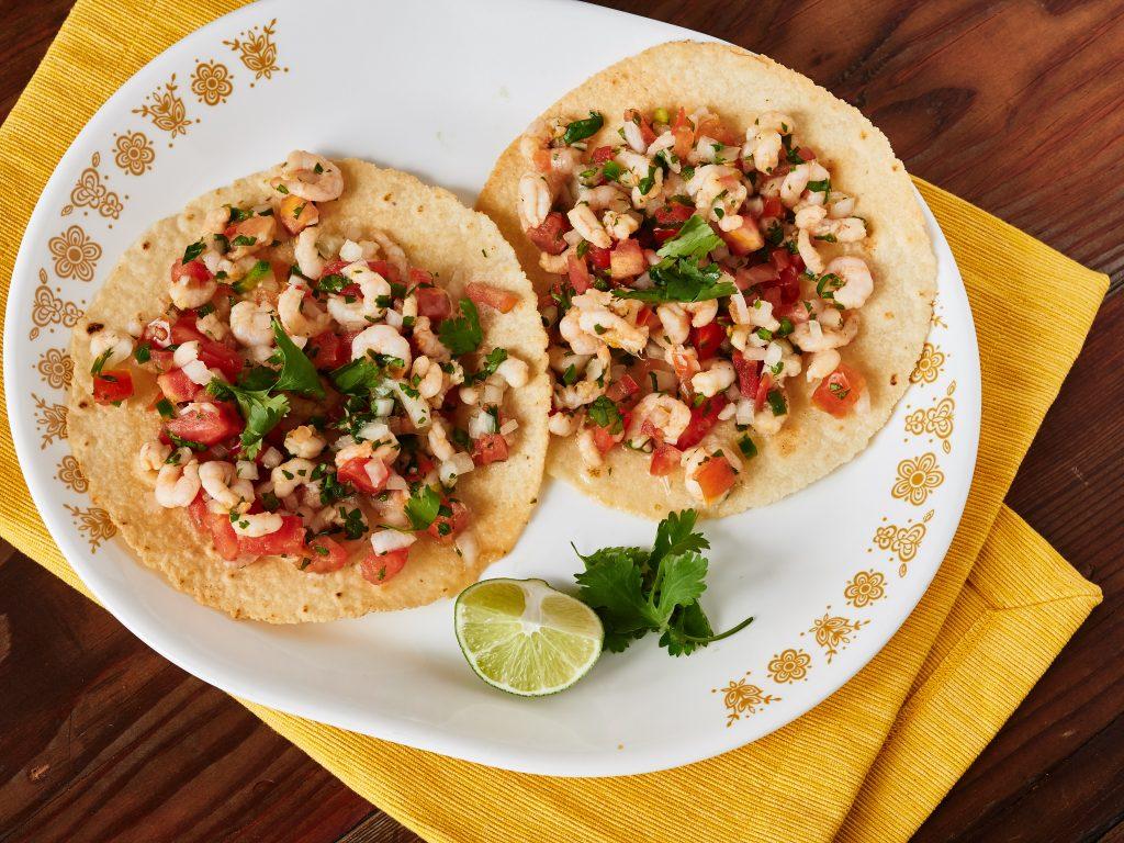 Easy Shrimp Ceviche Tostadas 2