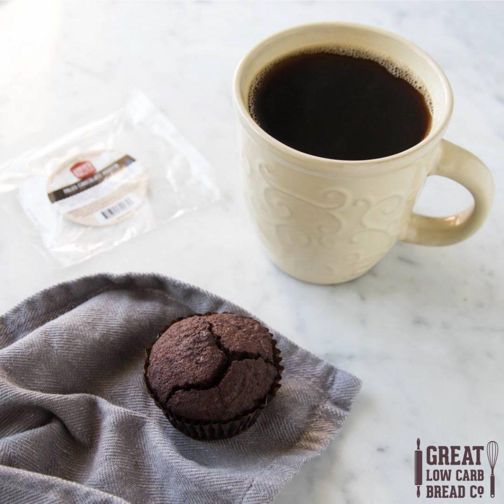 low carb paleo company OMG chocolate muffin