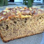 Walnut banana bread featured