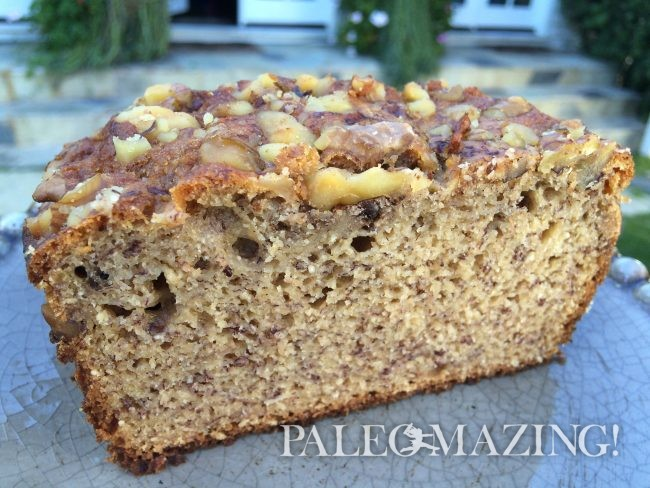 Walnut Flour Banana Bread