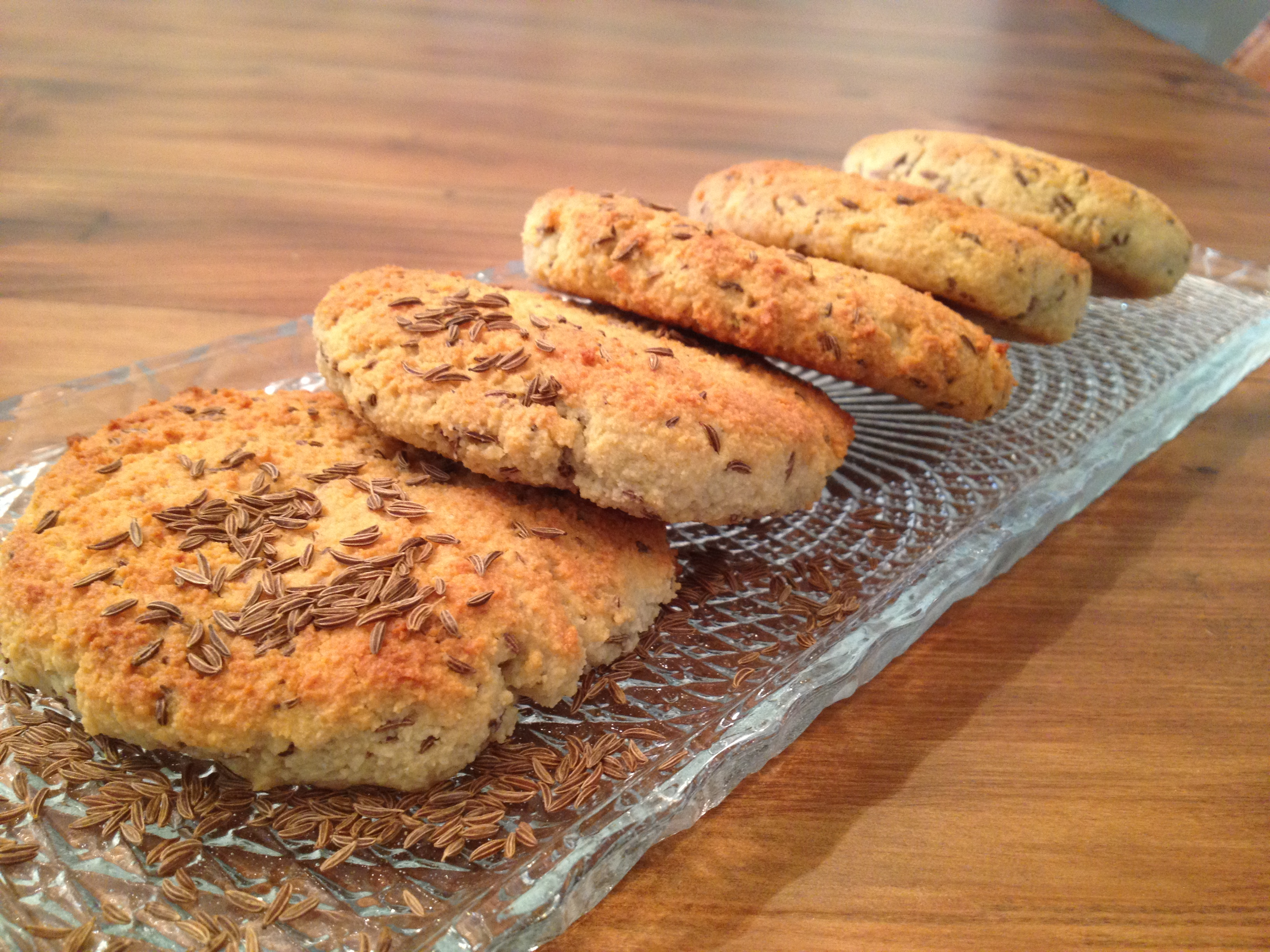 Paleo Caraway Biscuits