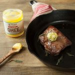 Pan Fried Grass Fed Steak with Sage Browned Ghee 1