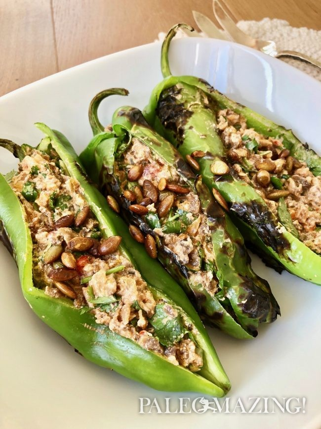 Zesty Mexican Chili Rellenos