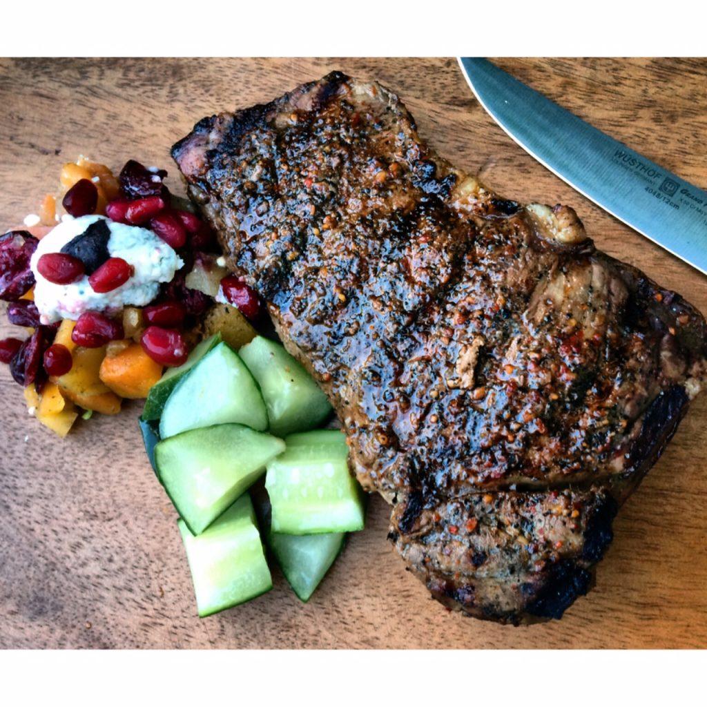 Healthy Hearty Steak Marinade 1