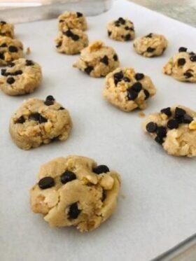 Paleo Hazelnut Chocolate Chip Cookies 2